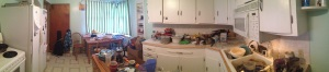 No explanation.  No excuses. Just raw/unretouched kitchen