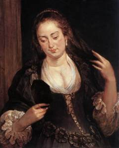 http://www.wikiart.org/en/peter-paul-rubens/woman-with-a-mirror