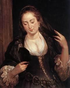 http://www.wikiart.org/en/peter-paul-rubens/woman-with-a-mirror